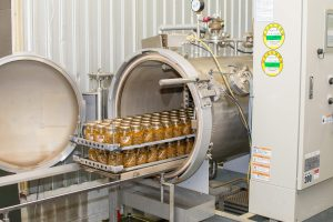 高温高圧加熱処理装置(レトルト殺菌器)